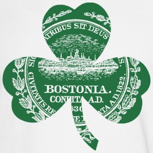 Bostonia Boston Irish Shamrock Long Sleeve Shirts - Men's Long Sleeve T-Shirt