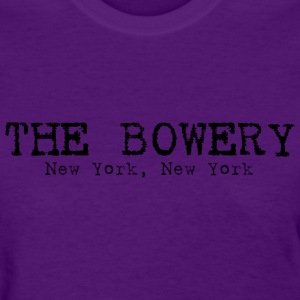 The Bowery New York, NY Women's T-Shirts - Women's T-Shirt