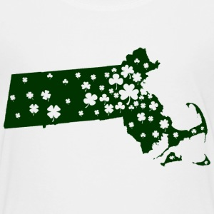 Massachusetts Mass Irish Shamrock Kids' Shirts - Kids' Premium T-Shirt