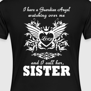 My guardian Angel, My SISTER - Women's Premium T-Shirt
