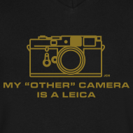 Design ~ My other camera is a GOLD Leica.