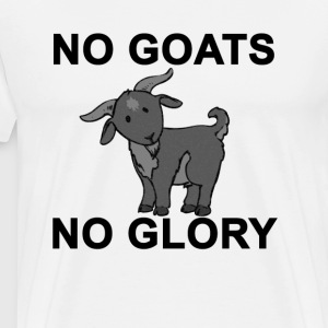 no_goats_no_glory - Men's Premium T-Shirt