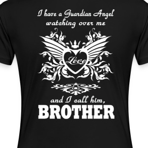 My guardian Angel, My BROTHER - Women's Premium T-Shirt