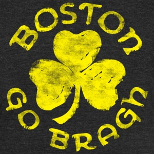 Boston Go Bragh Irish T-Shirts - Unisex Tri-Blend T-Shirt by American Apparel