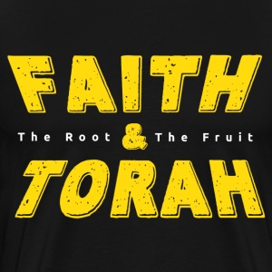 Faith And Torah - Men's Premium T-Shirt