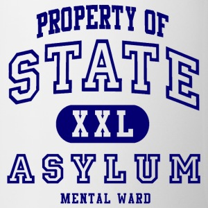 Property of State Asylum Mugs & Drinkware - Coffee/Tea Mug