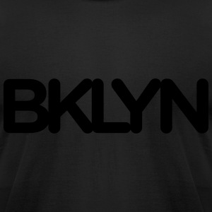 BKLYN Blackout Tee - Men's T-Shirt by American Apparel