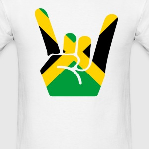 jamaica finger - Men's T-Shirt