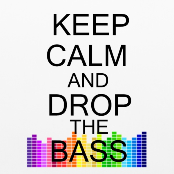 Keep Calm Bass - Pillowcase