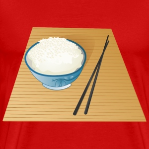 Pot with Rice - Men's Premium T-Shirt