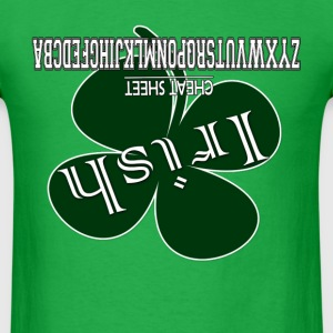Irish Cheat Sheet T-Shirts - Men's T-Shirt