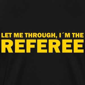 referee T-Shirts - Men's Premium T-Shirt
