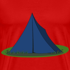 Blue Ridge Tent - Men's Premium T-Shirt