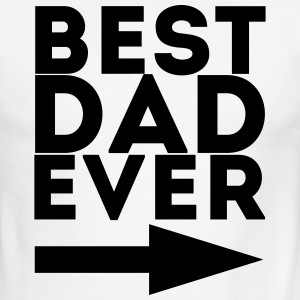 Best Dad Ever - Men's Ringer T-Shirt