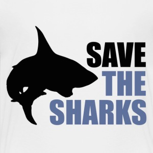 Save the sharks - Kids' Premium T-Shirt