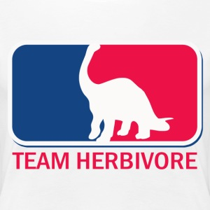 Team herbavore vegetarian vegan - Women's Premium T-Shirt
