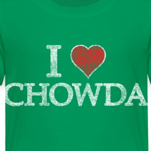 I Heart Chowder Chowda Baby & Toddler Shirts - Toddler Premium T-Shirt