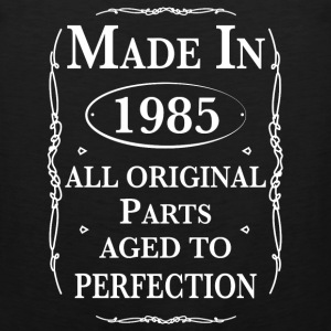 made in 1985 birthday Tank Tops - Men's Premium Tank