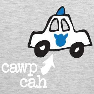 Funny Cawp Cah Cop Car Boston Tank Tops - Men's Premium Tank