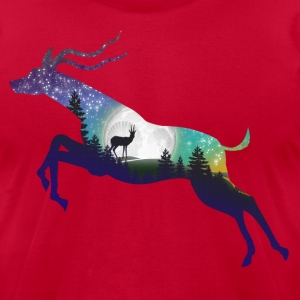 Antelope T-Shirts - Men's T-Shirt by American Apparel