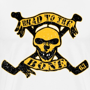 Brad to the Bone Boston Hockey T-Shirts - Men's Premium T-Shirt