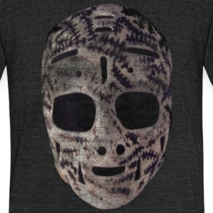 Cheesey Cheevers Goalie Mask T-Shirts - Unisex Tri-Blend T-Shirt by American Apparel