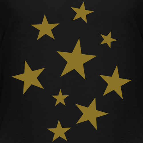 Stars Party Design (Gold)