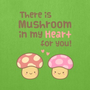 cute Mushroom in my heart Bags & backpacks - Tote Bag