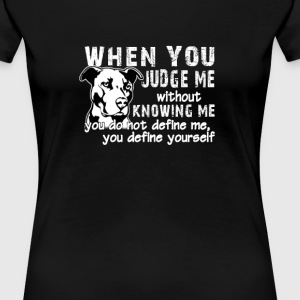 Don't Judge Me  - Women's Premium T-Shirt