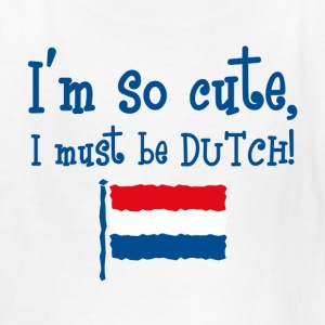 So Cute Dutch Kids' Shirts - Kids' T-Shirt