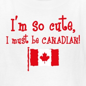 So Cute Canadian Kids' Shirts - Kids' T-Shirt