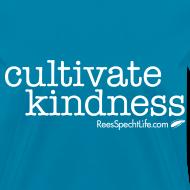 Design ~ Cultivate Kindness White Logo Women's Shirt