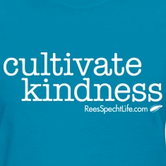 Cultivate Kindness White Logo Women's Shirt