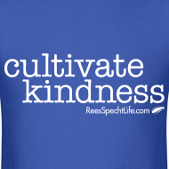 Design ~ Cultivate Kindness White Logo Men's Shirt