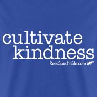 Design ~ Cultivate Kindness White Logo Men's Shirt