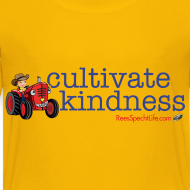 Design ~ Cultivate Kindness Kid's shirt