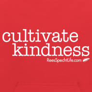 Design ~ Cultivate Kindness White Logo Kid's Sweatshirt