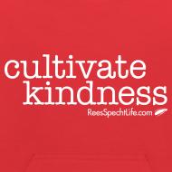Design ~ Cultivate Kindness White Logo Kid's Sweatshirt