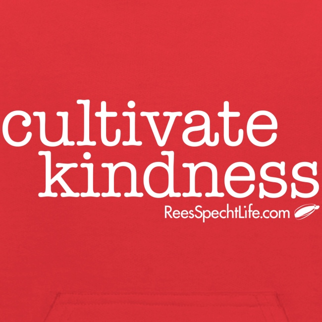 Cultivate Kindness White Logo Kid's Sweatshirt