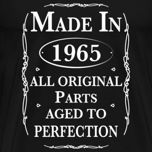Made in 1965 Birthday T-Shirts - Men's Premium T-Shirt