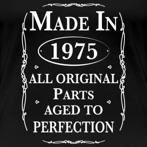 Made in 1975 Birthday Women's T-Shirts - Women's Premium T-Shirt