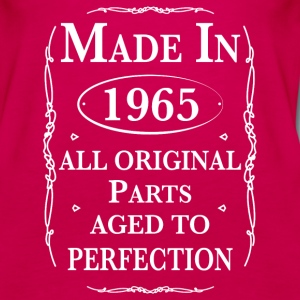 Made in 1965 Birthday Tanks - Women's Premium Tank Top