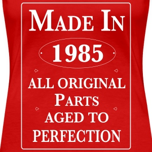 Made in 1985 Birthday II Women's T-Shirts - Women's Premium T-Shirt
