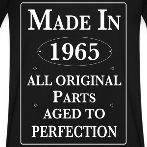 Made in 1965 Birthday II T-Shirts - Men's V-Neck T-Shirt by Canvas