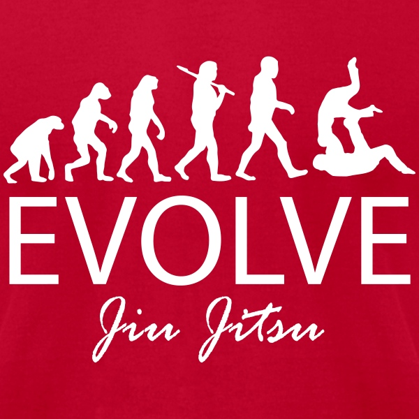 Evolve Jiu Jitsu Shirt (W) - Men's T-Shirt by American Apparel