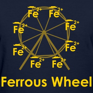 Ferrous Wheel (with text) Women's T-Shirts - Women's T-Shirt