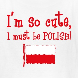 So Cute Polish Kids' Shirts - Kids' T-Shirt