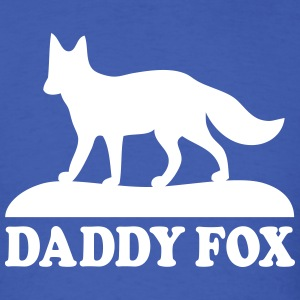daddy fox family fun T-shirts - T-shirt pour hommes