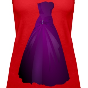 Formal Gown Remix - Women's Premium Tank Top