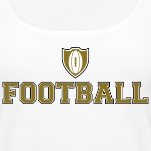 American Football Tanks - Women's Premium Tank Top